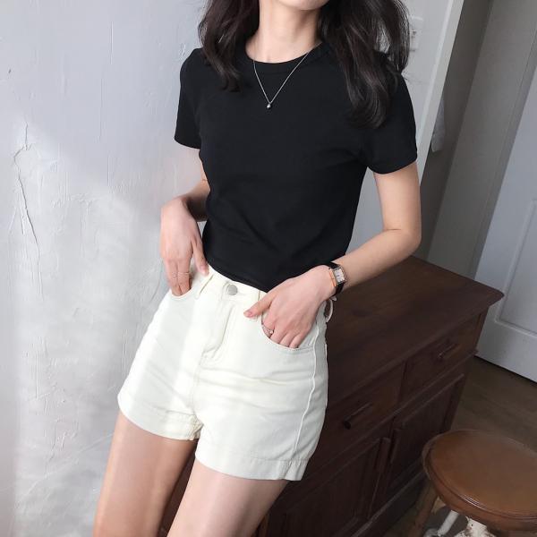 气质女神短袖T恤